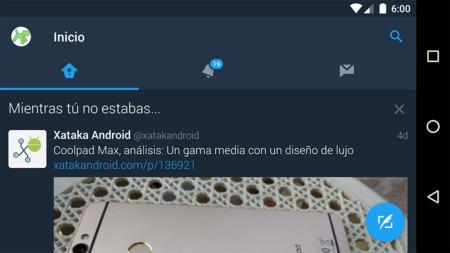 Así se activa el nuevo modo nocturno de Twitter para Android