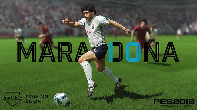 Main Maradona Pes