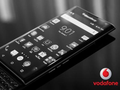 BlackBerry PRIV llega a Vodafone: precios y tarifas