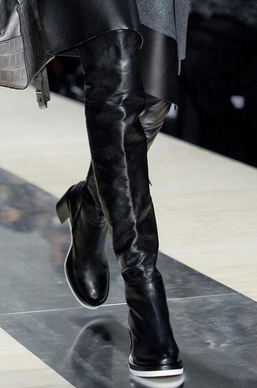 Las botas mosqueteras, el zapato de los vestidos de fiesta