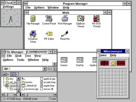 Se dejan de vender licencias de Windows 3.1