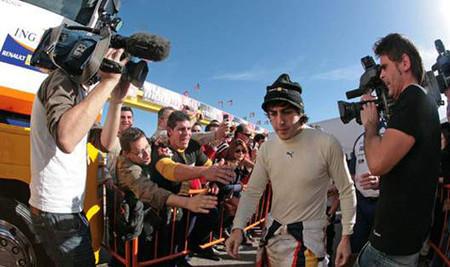 Fernando Alonso se suma a La Sexta en exclusiva