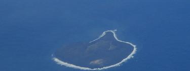Esta es una de las islas más recientes que se ha formado y apenas tiene 50 años de vida