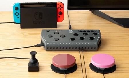 Hori presenta un nuevo mando para Nintendo Switch enfocado en mejorar la accesibilidad
