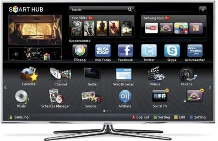 apps en un smart tv samsung