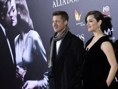 Brad Pitt y Marion Cotillard conquistan Madrid en la premiere de 'Aliados'