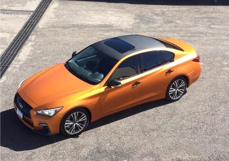 Infiniti ofrece a sus clientes la posibilidad de personalizar sus autos con colores más atrevidos