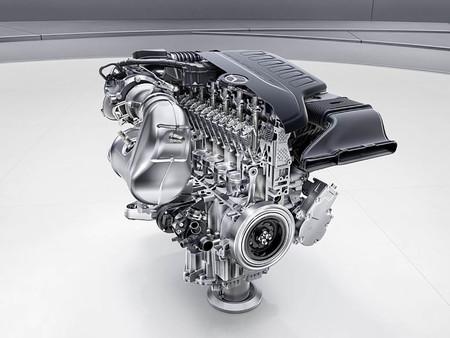 Mercedes 6 cilindros en línea m256