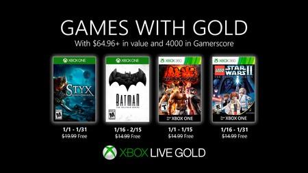 Styx: Shards of Darkness y Tekken 6 entre los juegos de Games With Gold de enero de 2020