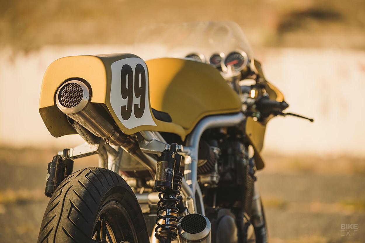 Foto de Colonel Butterscotch, una moto creada a partir de otras motos (5/12)
