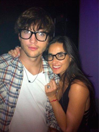 Demi y Ashton