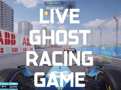 Ghost Racing: el concepto de la Fórmula E para que corras contra sus pilotos en tiempo real