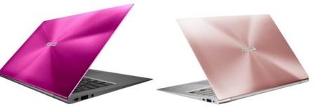Asus ZenBook se pasa al rosa
