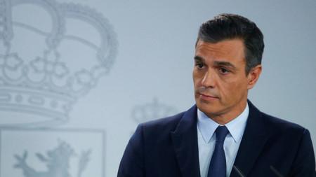 Pedro Sánchez, presidente del Gobierno, declara el estado de alarma en España