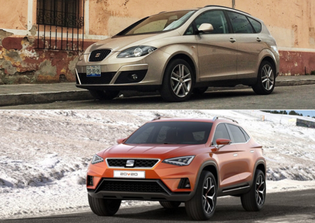 Adiós, SEAT Altea; hola, nuevas SUVs de la marca española
