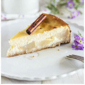 Receta de pastel de pera y queso ricotta, cremoso y especiado