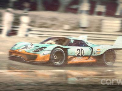 ¿Te imaginas como lucirían coches actuales con decorados míticos de participantes de Le Mans?