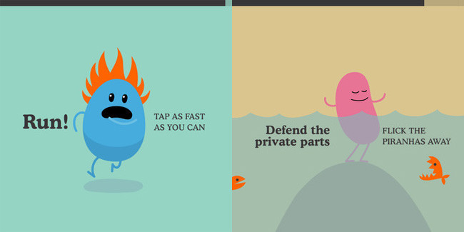 Minijuegos gratuitos para el iPhone - dumb ways to die