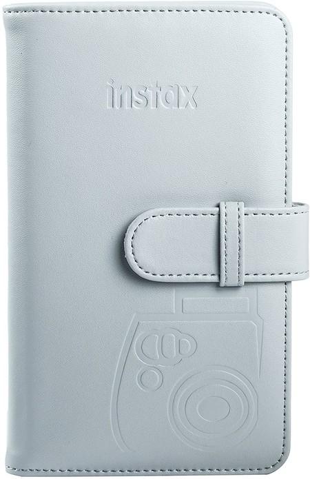 Fujifilm 70100136666 Album Para 108 Fotos Instax Mini Color Blanco Ahumado