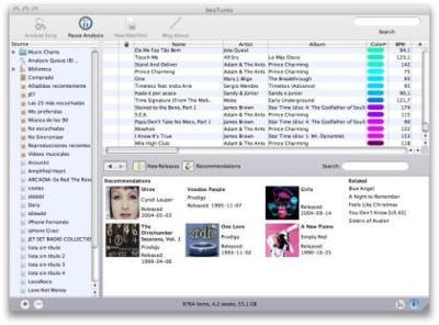 beaTunes, interesante aplicación para la biblioteca de iTunes