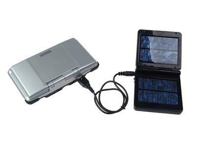 Cargador solar para la Nintendo DS