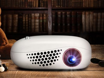 LG presenta su nuevo miniproyector LED, el Minibeam Nano