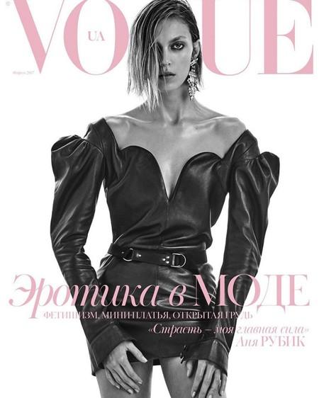 Vogue Ucrania: Anja Rubik