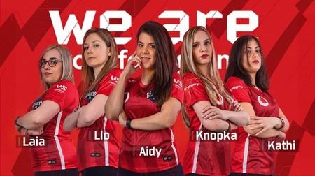 """Vodafone Giants presenta su escuadra femenina de gamers: """"El futuro está en equipos mixtos"""""""