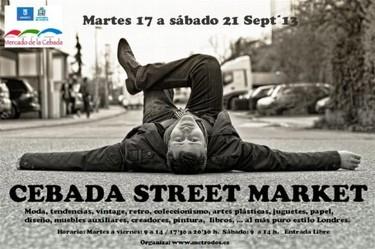 Cebada Street Market, el mercado callejero más grande Madrid