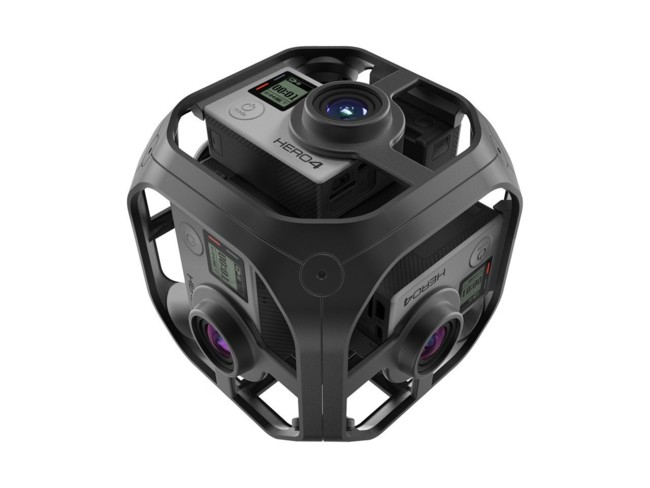 Así es Omni, la apuesta de GoPro para el vídeo en 360 grados y la realidad virtual