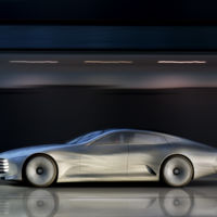 Mercedes-Benz Concept IAA, el auto que cambia de forma para que ahorres combustible