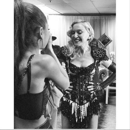 Ariana Grande Y Madonna