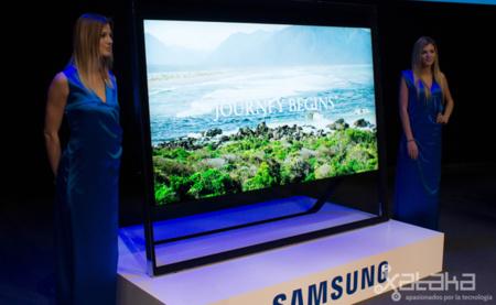 Samsung S9000, el televisor de 4K de los 40.000 euros. Imagen de la semana