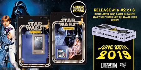 Los clásicos Star Wars de NES y Game Boy regresarán en forma de cartucho con una edición física gracias a Limited Run Games