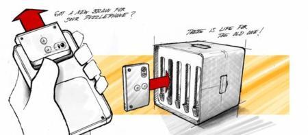 Puzzlecluster: un proyecto de futuro para cuando los smartphones modulares existan