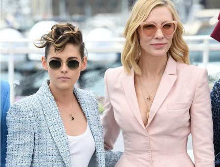 Festival de Cannes 2018: Kristen Stewart y Cate Blanchett se ponen de acuerdo en la alfombra roja