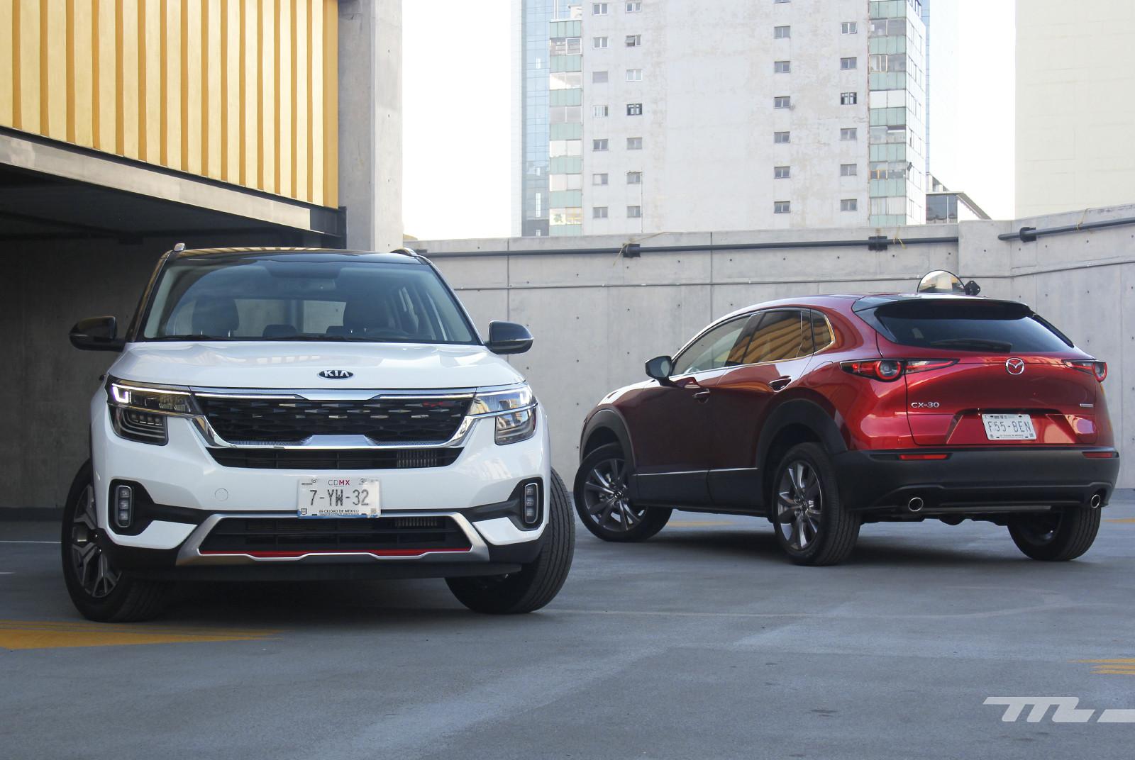 KIA Seltos vs. Mazda CX-30 (comparativa)