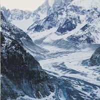 La desaparición del glaciar del Mont Blanc en apenas 100 años, explicada en dos fotografías
