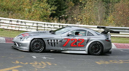 Mercedes SLR McLaren 722 GTR