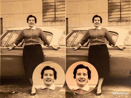 myheritage restaurar imagenes viejas