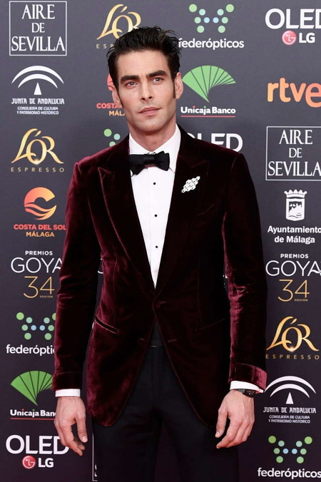 Jon Kortajarena Goya Cinema Awards 2020 Red Carpet 02