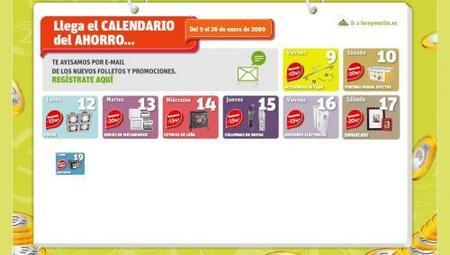 El calendario de ofertas de Leroy Merlín