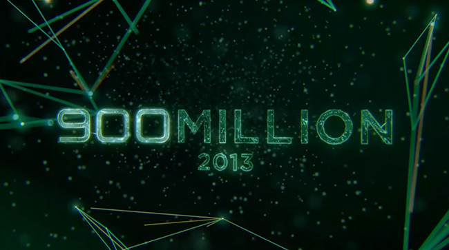 900 millones activaciones