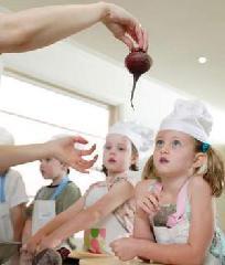 Mami, papi, hoy cocino yo
