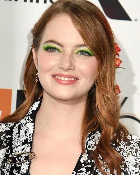 Emma Stone dice sí a las sombras verdes: 11 sombras de ojos en tonalidades verdosas para copiar su maquillaje