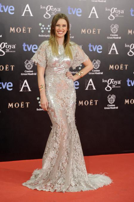 Manuela Vellés peor vestidas Goya 2014