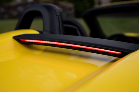 Porsche 718 Spyder luz freno
