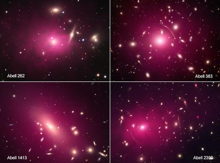 Cumulosgalaxias Rx Chandra