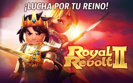 Royal Revolt 2 para Android, construye tu campo de batalla en esta nueva entrega con multijugador
