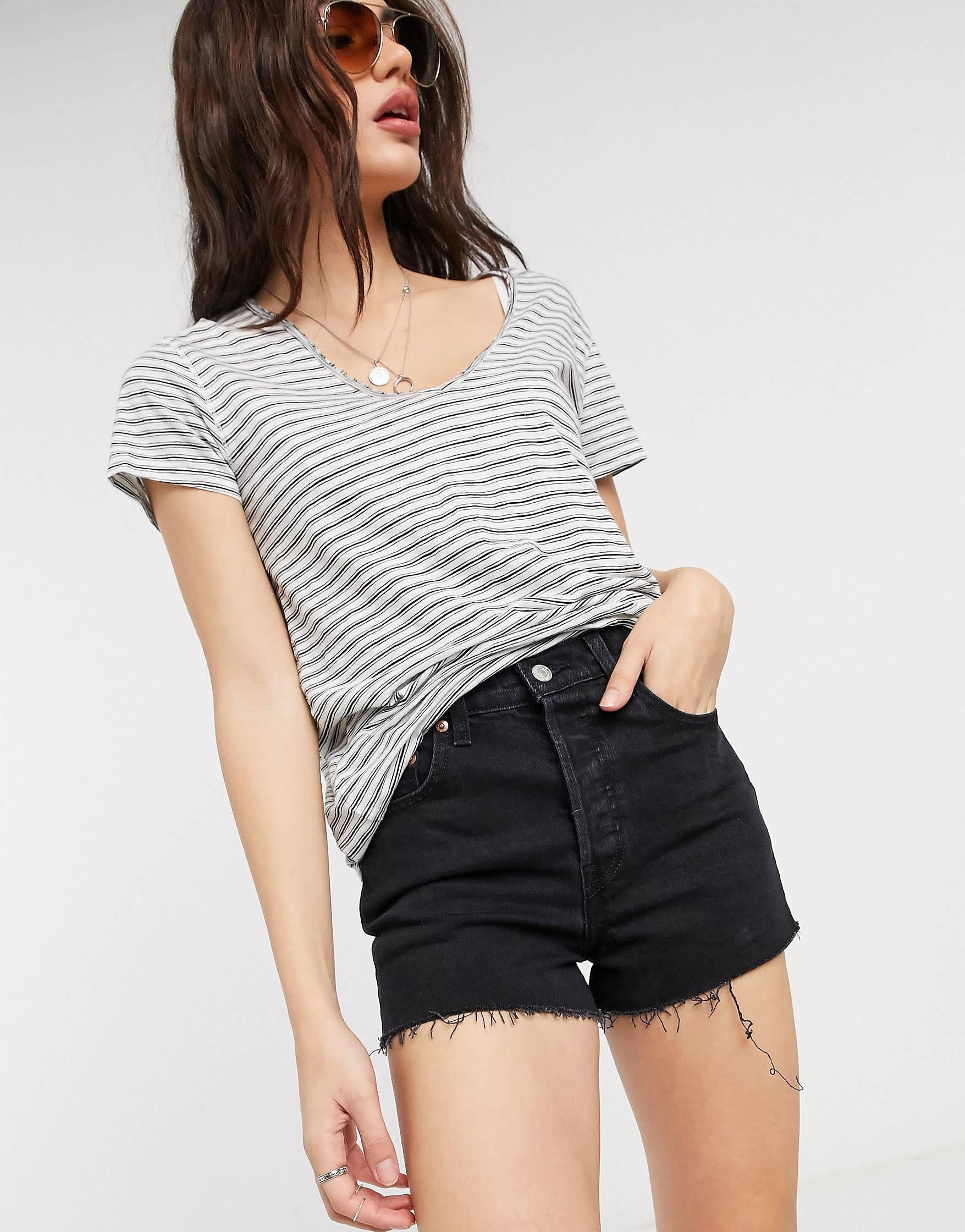 Shorts Ribcage negros